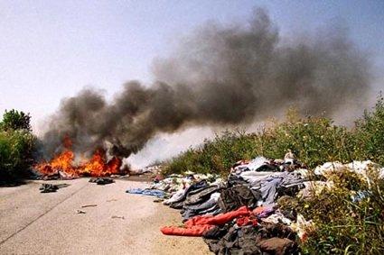La combustione illecita dei rifiuti nella Terra dei Fuochi