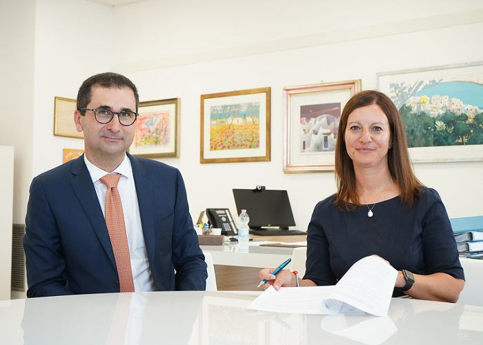 firma accordo Poliba-Masmec