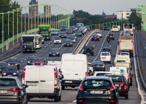ponte traffico