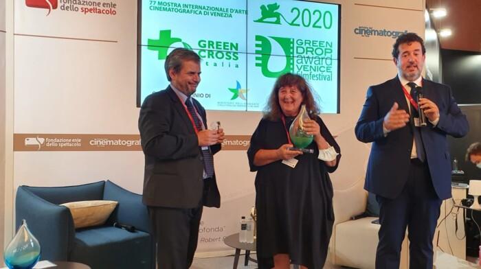 Foto premiazione Green Drop Award 2020