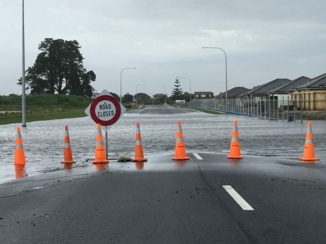 alluvione strada