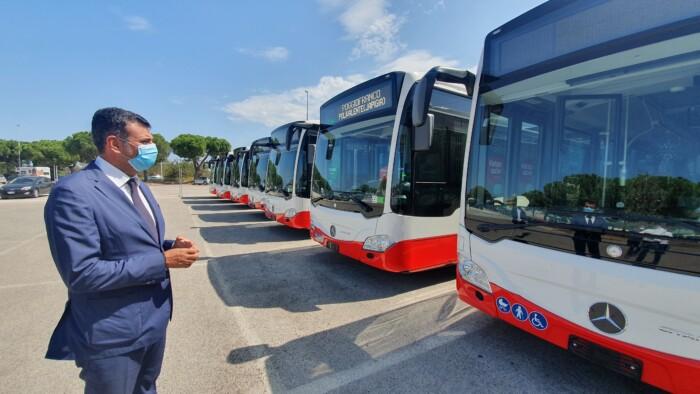 autobus ibridi amtab