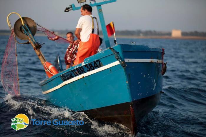 Pescatori artigianali Torre Guaceto