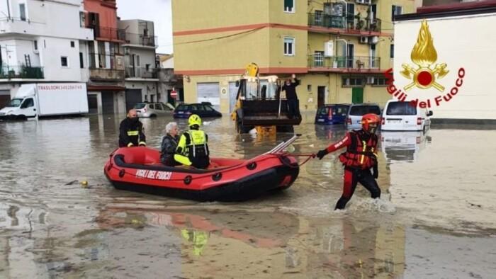 alluvione crotone 21 novembre 2020