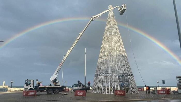 albero natale megamark-foto facebook