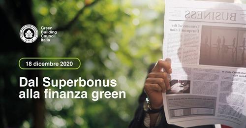 dal superbonus alla finanza green