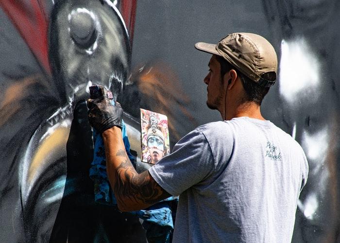 street art foto Brett Sayles da Pexels