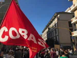 sciopero COBAS facebook