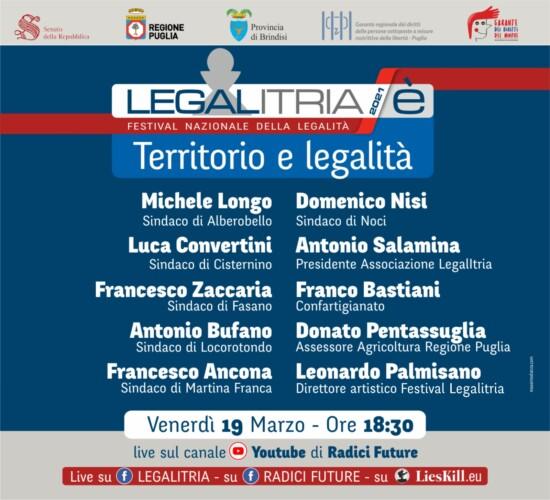 LegalItria è territorio e legalità