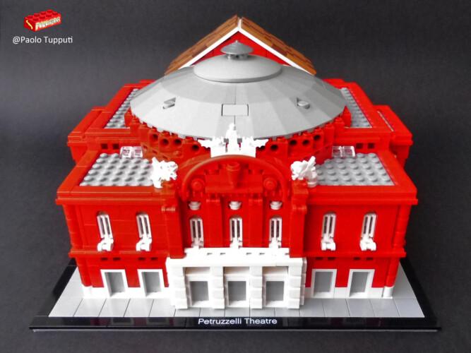 Teatro Petruzzelli LEGO