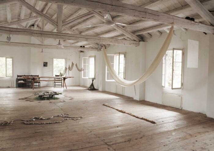 ATE Residenza in Pratiche artistiche sostenibili. Foto di Beatrice Lopez