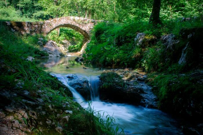 Ponte di Pradis. Foto di Alan Morassut