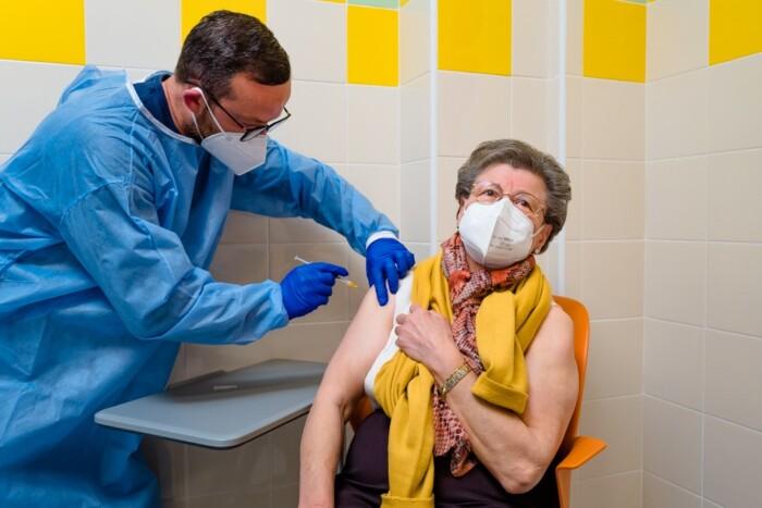 vaccinazione di over 80