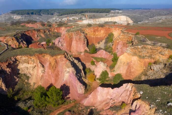 miniere di bauxite-