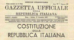 costituzione italiana-gazzetta ufficiale
