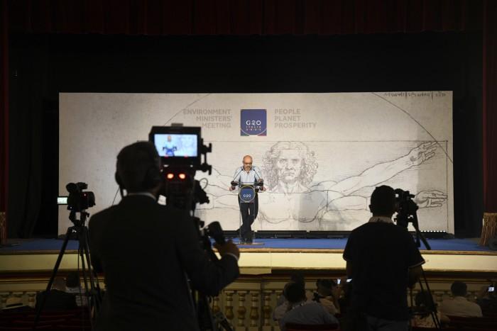 cingolani conferenza stampa 23 luglio foto massimiliano de giorgi