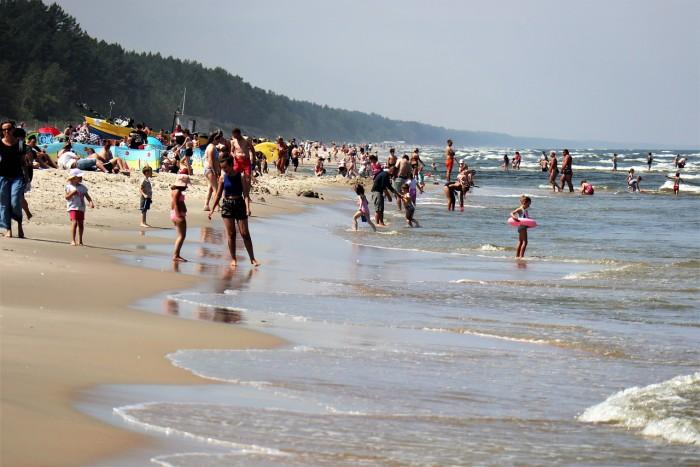 spiaggia turisti