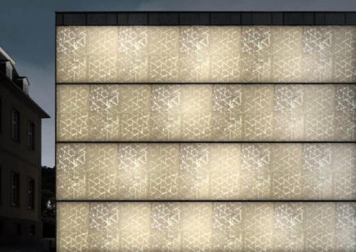 Architettura Design Poliba Marmomac- 4. Luminescent Geometric Marble, CESAR