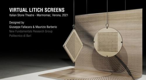Architettura Design Poliba Marmomac- Virtual Lithic Screens