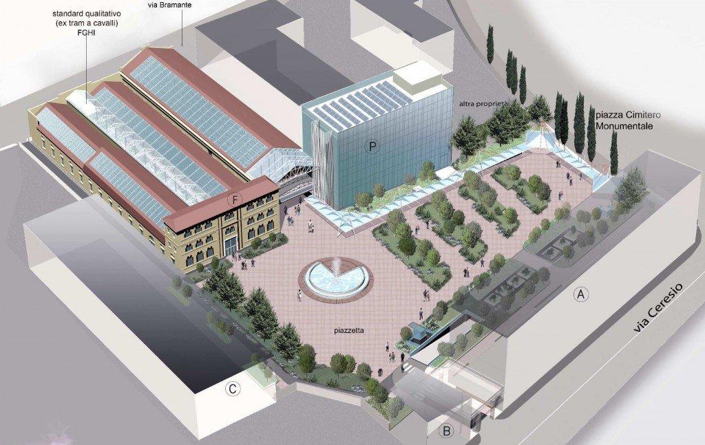 Modellazione 3d della nuova sede dell'ADI