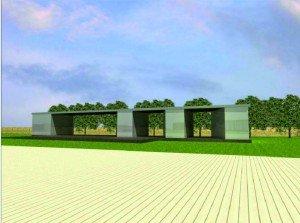 Parco della Rinascita: padiglione bagni
